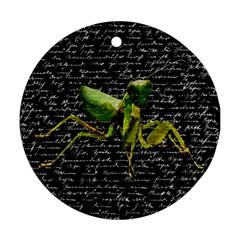 Mantis Ornament (Round)