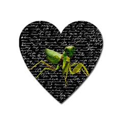 Mantis Heart Magnet