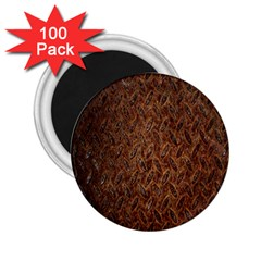 Texture Background Rust Surface Shape 2.25  Magnets (100 pack)