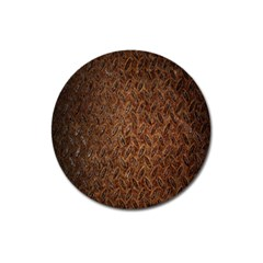 Texture Background Rust Surface Shape Magnet 3  (Round)