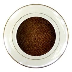 Texture Background Rust Surface Shape Porcelain Plates