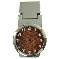 Texture Background Rust Surface Shape Money Clip Watches