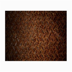 Texture Background Rust Surface Shape Small Glasses Cloth (2 Side)