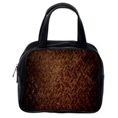 Texture Background Rust Surface Shape Classic Handbags (One Side)