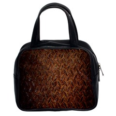 Texture Background Rust Surface Shape Classic Handbags (2 Sides)