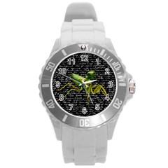 Mantis Round Plastic Sport Watch (L)