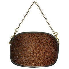 Texture Background Rust Surface Shape Chain Purses (one Side)