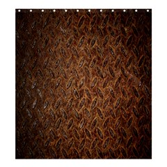 Texture Background Rust Surface Shape Shower Curtain 66  x 72  (Large)