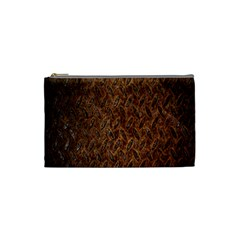 Texture Background Rust Surface Shape Cosmetic Bag (Small)
