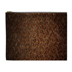 Texture Background Rust Surface Shape Cosmetic Bag (XL)