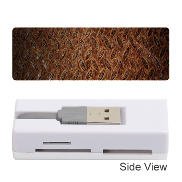 Texture Background Rust Surface Shape Memory Card Reader (Stick)