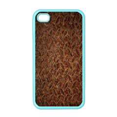 Texture Background Rust Surface Shape Apple iPhone 4 Case (Color)