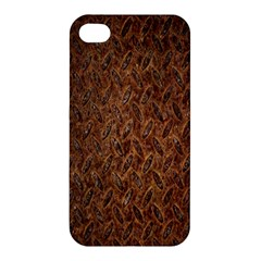 Texture Background Rust Surface Shape Apple Iphone 4/4s Hardshell Case