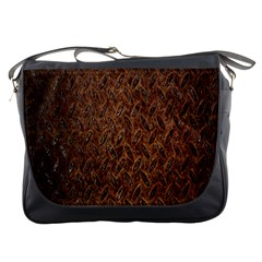 Texture Background Rust Surface Shape Messenger Bags