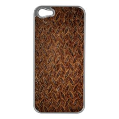 Texture Background Rust Surface Shape Apple Iphone 5 Case (silver)