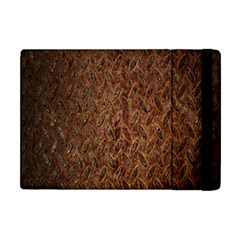 Texture Background Rust Surface Shape Apple iPad Mini Flip Case