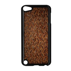 Texture Background Rust Surface Shape Apple iPod Touch 5 Case (Black)