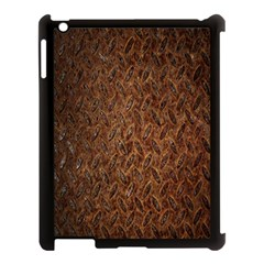 Texture Background Rust Surface Shape Apple iPad 3/4 Case (Black)