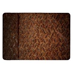 Texture Background Rust Surface Shape Samsung Galaxy Tab 8.9  P7300 Flip Case