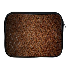 Texture Background Rust Surface Shape Apple iPad 2/3/4 Zipper Cases