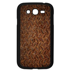 Texture Background Rust Surface Shape Samsung Galaxy Grand Duos I9082 Case (black)