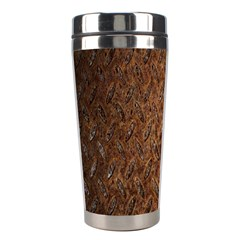 Texture Background Rust Surface Shape Stainless Steel Travel Tumblers