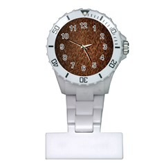 Texture Background Rust Surface Shape Plastic Nurses Watch