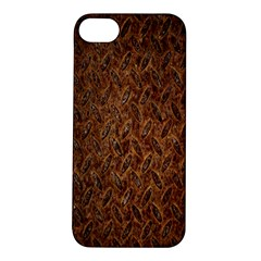 Texture Background Rust Surface Shape Apple iPhone 5S/ SE Hardshell Case