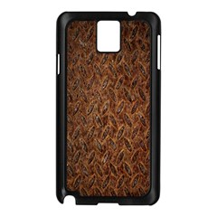 Texture Background Rust Surface Shape Samsung Galaxy Note 3 N9005 Case (Black)