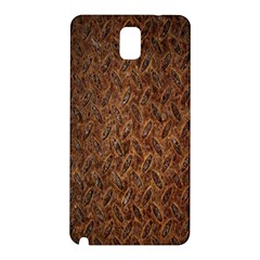 Texture Background Rust Surface Shape Samsung Galaxy Note 3 N9005 Hardshell Back Case