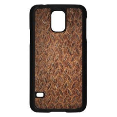 Texture Background Rust Surface Shape Samsung Galaxy S5 Case (Black)
