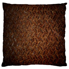 Texture Background Rust Surface Shape Large Flano Cushion Case (Two Sides)