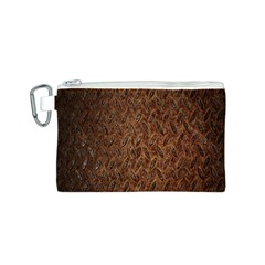 Texture Background Rust Surface Shape Canvas Cosmetic Bag (S)