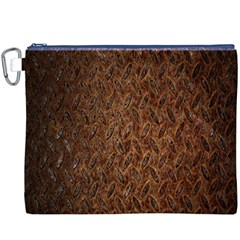 Texture Background Rust Surface Shape Canvas Cosmetic Bag (xxxl)