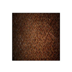 Texture Background Rust Surface Shape Satin Bandana Scarf