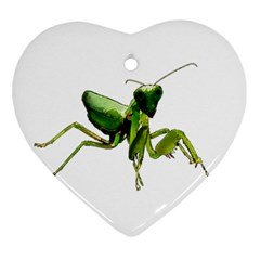 Mantis Ornament (Heart)