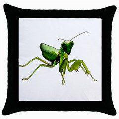 Mantis Throw Pillow Case (Black)