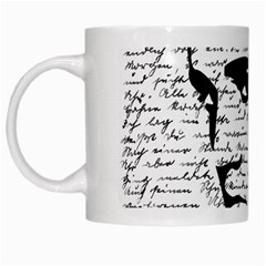 Elvis White Mugs