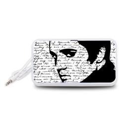 Elvis Portable Speaker (White)