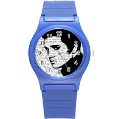 Elvis Round Plastic Sport Watch (S)