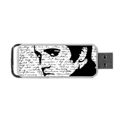 Elvis Portable USB Flash (One Side)