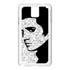 Elvis Samsung Galaxy Note 3 N9005 Case (White)
