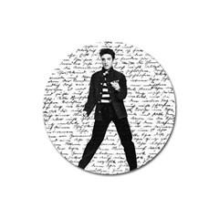 Elvis Magnet 3  (Round)