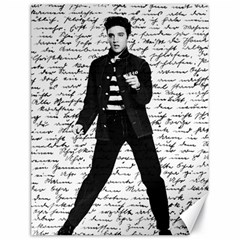 Elvis Canvas 18  x 24