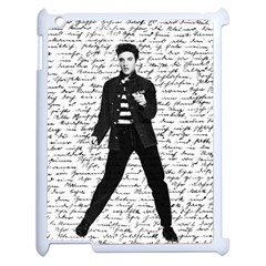 Elvis Apple iPad 2 Case (White)