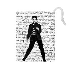 Elvis Drawstring Pouches (Large)