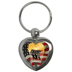 Caution Key Chains (Heart)