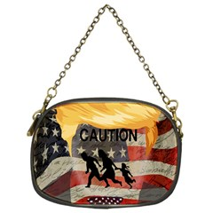 Caution Chain Purses (One Side)