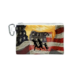 Caution Canvas Cosmetic Bag (S)