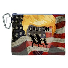 Caution Canvas Cosmetic Bag (XXL)